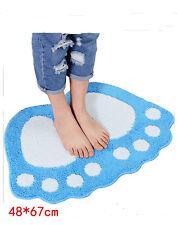 8 Colors Non-slip Absorbent Bath Mat Bathroom Shower Rugs Shaggy Carpet