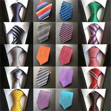 Mens Stripe Geometric Polka Dot 8cm Neck Tie Fashion Polyester Necktie HZ009