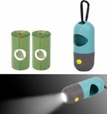 Pet Degradable Waste Bag Portable Dispenser With Led Light Durable Dog Poop Bags