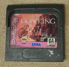 The Lion King for Sega Game Gear