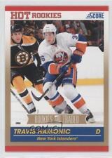 2010-11 Score Rookies & Traded Gold #618 Travis Hamonic New York Islanders Card