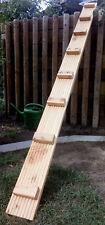 Katzenleiter massiv mit Befestigung Katzentreppe 120mm , Holz Douglasie