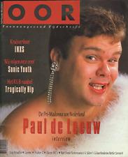 MAGAZINE OOR 1992 nr. 24 - PAUL DE LEEUW/INXS/SONIC YOUTH/BETTIE SERVEERT