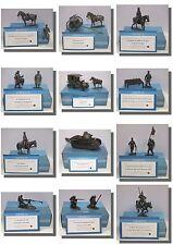 World War 1 (WW1) Metal Figures Artillery, Tanks, Soldiers, 1/24 Cavalry, Milita