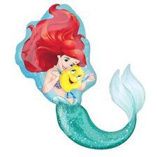 Ariel La Petite Sirène fête princesse super forme hélium géant Ballon Plat
