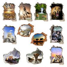 Immagine Parete Sticker 3d Wild Life Fotomurale Parete Tatuaggio circa 125x100 POSTER #1508