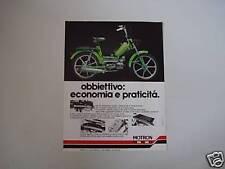 advertising Pubblicità 1978 MOTRON RA
