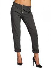 CASPAR KHS027 Donna Pantaloni Chino Lunghi di Cotone Inverno Velluto a Coste
