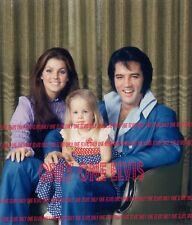 1970 THE PRESLEY FAMILY ALBUM | ELVIS - PRISCILLA - LISA | PHOTO 007