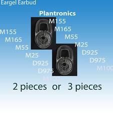 Standard Earbuds Eargels  for Plantronics m165 m25 m55 D925 D975 m155 m1100