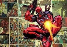 Cartel de Deadpool Marvel Comic Pared Arte Impresión Foto Película Foto A3 A4