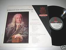 LP/BACH/BWV 36+64/CANTATE 651213/EHMANN/FRIESENHAUSEN/STEINKOPF/STÖNEBERG