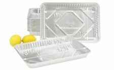 Disposable Aluminum Foil 1/4 Size Sheet Cake Pan #1200NL