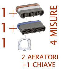 KIT 2 AERATORI filtri areatori rompigetto RETTANGOLARI  +1 CHIAVE NEOPERL