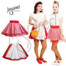 CHILDREN'S Red Riding Hood Gingham and Net Dance SKIRT Fancy Dress DANCE UK