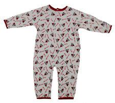 NBA Baby Boys Infants Chicago Bulls All-Over Print Pajamas Coveralls, White