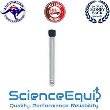 Culture Test Tube Premium Borosilicate Glass ROUND BOTTOM Screw Cap 15ml