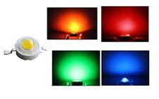 2 LED 1W BLU ROSSO VERDE GIALLO alta luminosità luce diodi lampada lampadina