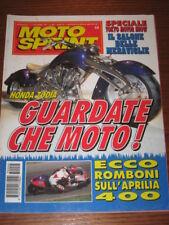 MOTOSPRINT 1995/44 HONDA ZODIA REGGIANI ROMBONI APRILIA
