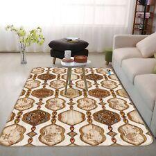 3D Wood Floral Retro 3 Non Slip Rug Mat Room Mat Quality Elegant Photo Carpet UK