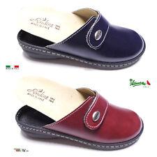 Pantofole ciabatte donna chiuse MADEinITALY PLANTARE ESTRAIBILE 310 italiane