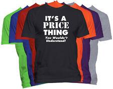 PRICE Last Name T-Shirt Custom Name Shirt Family Reunion Tee S-5XL