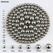 Edelstahl Stahlkugeln Kugellager von 2mm bis 16mm 10 Stück bis 20000 Stück