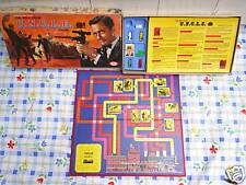 1965 The Man From U.N.C.L.E. Board Game,napoleon solo,illya kuryakin,r.vaughn