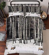 3D Äste Zeichnen 59 Bett Kissenbezüge steppen Duvet Decken Set Single DE Carly