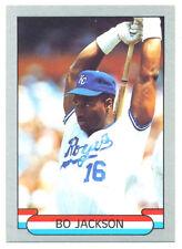 Bo Jackson 1989 Silver Border Star Card #2; NM-Mint; Kansas City Royals