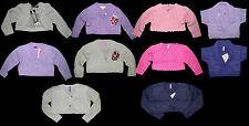 Boleros Strickjacke lila pink rosa 92 98 104 110 116 122 128 134 140 152 158 164