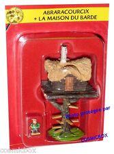 Le VILLAGE d'ASTERIX n 3 figurine ABRARACOURCIX la maison du barde Atlas PLASTOY