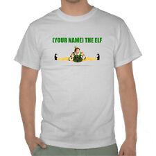 Buddy The Elf Tshirt - Customisable Name - Cotton MX Custom T shirt Gift