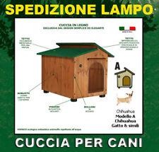Cucce per cani cuccia in legno canile casetta taglie diverse misure entra e vedi
