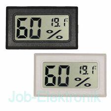 LCD Temperatur und Luftfeuchtigkeits Messmodul Hygrometer schwarz oder weiß