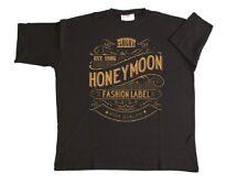 Herren T-Shirt Vintage in Übergröße von Honeymoon 3XL bis 15XL