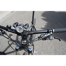 Halter für Fahrrad Licht Fahrradhalter Lenker Halterung LED Scheinwerfer Bike