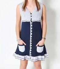VSCT Clubwear Sailorette Hybrid Dress Kleid blue Sommer Shirt Longshirt Tunika
