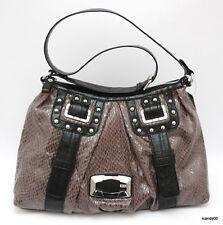 New Guess WHISTLER Large Hobo Shoulder Bag Handbag Satchel Tote ~Grey