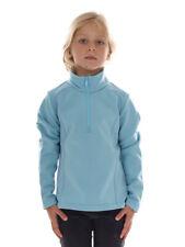 CMP Fleece Upper Part Functional Shirt Blau Collar Stretch Breathable