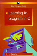 Learning to Program in C. (BP S.), Noel Kantaris | Paperback Book | Good | 97808