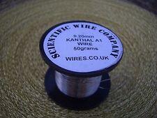 Alambre de resistencia KANTHAL A1-calibre AWG 20 - 20 - 0.8mm - 2, 5 y 10 metros longitudes