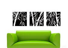 Bm05 murales wall sticker árbol bambú pájaro pared Pegatina 40 colores para elegir
