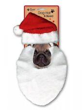 Navidad conjunto de Mascotas Sombrero & Scrunchie con campanas Perro Cachorro Gato Gatito Regalo De Navidad!!!