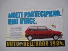 advertising Pubblicità 1984 FIAT UNO