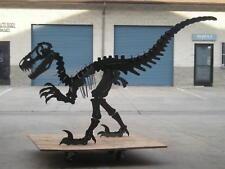 Dinosaur steel sculpture.  Extra large. 10 feet long, 6 feet tall