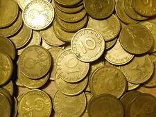 DEUTSCHES REICH GERMANY NAZI 10 reichspfennig KM#92 1937-1939 choose your coin