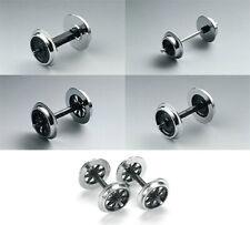 LGB Metall Radsatz Doppelspeichenradsatz Speichen Vollradsatz Kugellagerrad