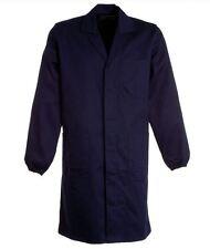 camice da lavoro blu officina industria 100% cotone massaua pesante spesso nuovo