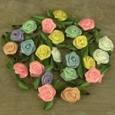 Pastel Mix Rosebuds Roses Satin Fleurs Mariage Carte Rose Bourgeons 25 50 500
